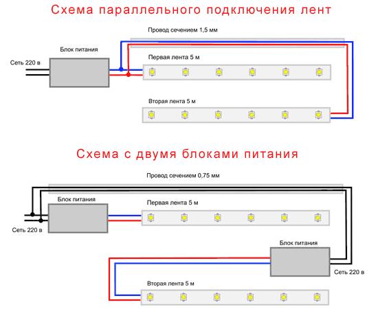 Схема блока питания светодиодных лент.  Инверторы питания ламп подсветки жк телевизоров схемы.